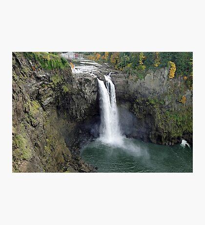Snoqualmie Falls in Autumn Photographic Print