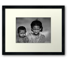 Malagasy Children II Framed Print