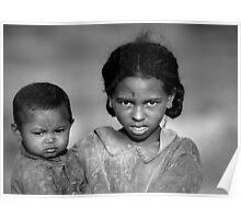 Malagasy Children II Poster