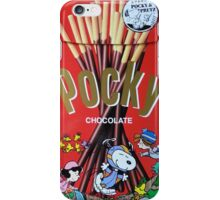 Snoopy Choco Pocky iPhone Case/Skin