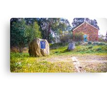 The Geographic Center of Victoria Metal Print