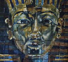 King Tut's Golden Mask by trand07