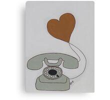 Love Call Canvas Print