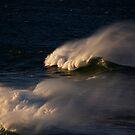 Breaking waves by Philip Alexander