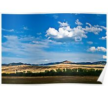 The Big Sky in Deer Lodge County Poster