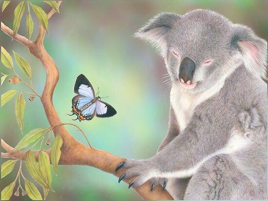 A Kiss for Koala by Karen  Hull