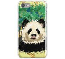 splatter panda  iPhone Case/Skin