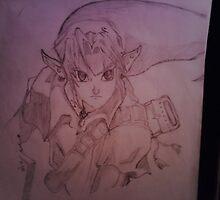 zelda sketch by aliabdallah