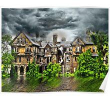 "Storm at ""Bennett Women's College"", Millbrook New York Poster"
