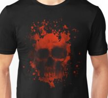 Blood And Skull Unisex T-Shirt
