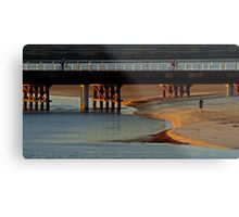 The New Barwon Heads Bridge Metal Print