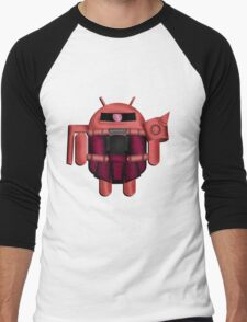 ZAKDROID-II Men's Baseball ¾ T-Shirt