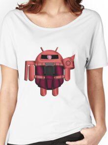 ZAKDROID-II Women's Relaxed Fit T-Shirt
