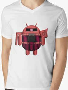 ZAKDROID-II Mens V-Neck T-Shirt