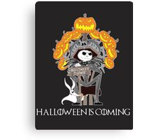 Halloween is Coming Canvas Print