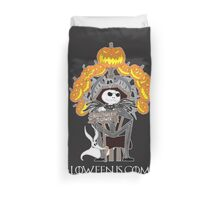 Halloween is Coming Duvet Cover