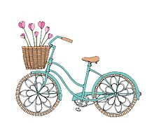 Cute bike/bicycle  by amy97