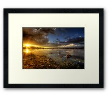 Light It Up Framed Print