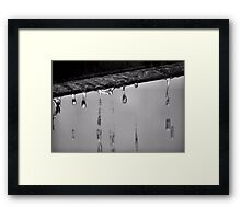 It Was A Dark And Stormy Night Framed Print