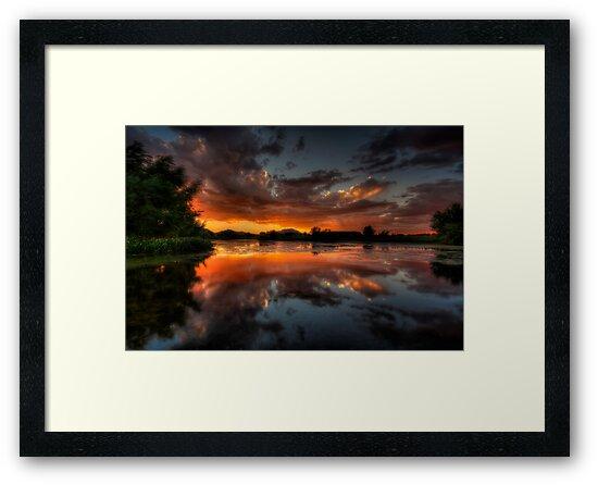 Sunset Cove by Bob Larson