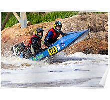 Power boat 173 Poster