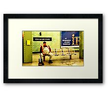 BERLIN - WAITING Framed Print