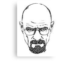 Heisenberg | Walter White from Breaking Bad Canvas Print