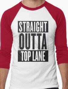 Straight Outta Top Lane Men's Baseball ¾ T-Shirt