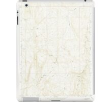 USGS Topo Map Oregon Kane Spring Gulch 280371 1967 24000 iPad Case/Skin