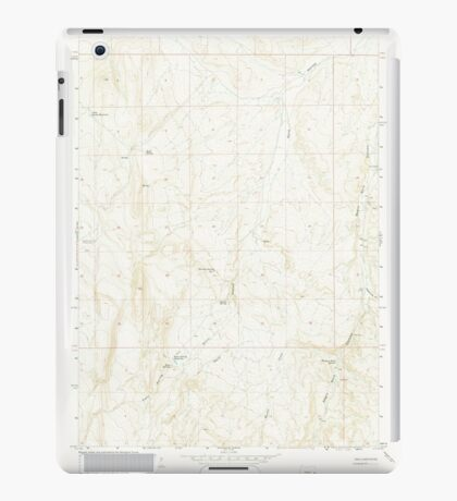 USGS Topo Map Oregon Kane Spring Gulch 280371 1967 24000 iPad Case/Skin
