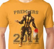 'The Mighty Premiers From Hawthorn' 2014 Print By Grange Wallis Unisex T-Shirt