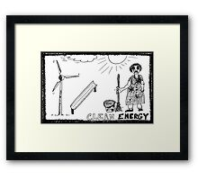 Clean Energy Framed Print