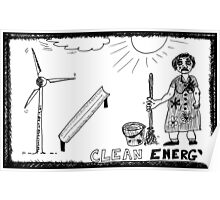 Clean Energy Poster
