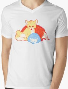 Fast Friends Mens V-Neck T-Shirt