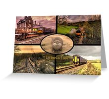 Tarka Line  Greeting Card