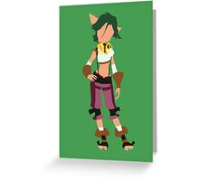 Jak and Daxter - Keira Greeting Card