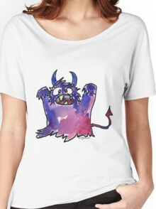 Funny Cartoon Monstar Monster 002 Women's Relaxed Fit T-Shirt