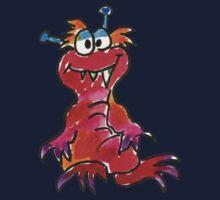 Funny Cartoon Monstar 004 Kids Clothes