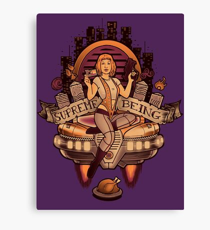 Supreme Being Canvas Print
