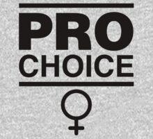 Pro-Choice Feminist Shirt Design by feministshirts