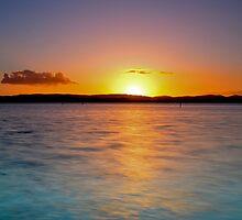 Lake Macquarie Aglow by bazcelt