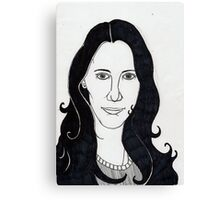Nur portrait Canvas Print