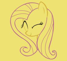 FlutterShy Wink Outline by LcPsycho