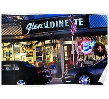 Glen's Dinette in Babylon Village Poster