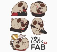 You Look Fab! -Puglie One Piece - Long Sleeve