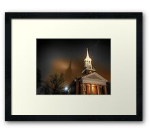 Shadow of the Lutheran Seminary at Gettysburg Framed Print