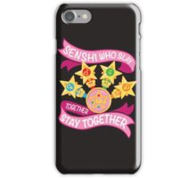 Slay Together, Stay Together - Sailor Scouts Clean iPhone Case/Skin
