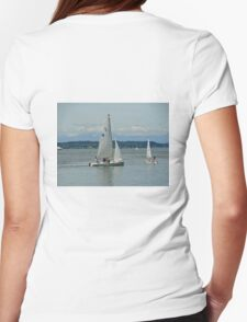 South Puget Sound Sailing Womens Fitted T-Shirt