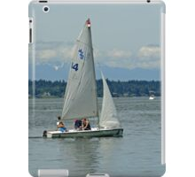 South Puget Sound Sailing iPad Case/Skin