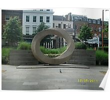 Angel Islington/Stone Sculpture -(180511)- digital photo Poster